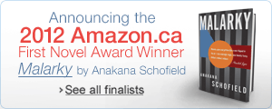 Amazon.ca First Novel Award Winner