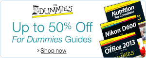 Up to 50% Off For Dummies Guides