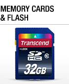 Memory Cards & Flash