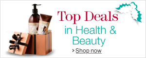 Holiday Deals in Health & Beauty