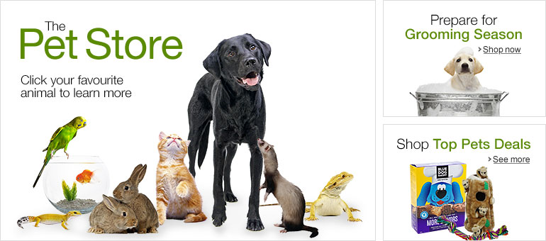 Welcome to the Amazon.ca Pet Supplies Store