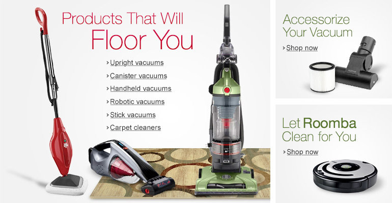 Welcome to the Amazon.ca Vacuums & Floor Care Store