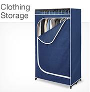 Clothing & Closet Storage