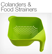 Colanders & Food Strainers
