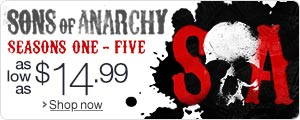 Deal of the Week: Sons of Anarchy Seasons 1 - 5 as low as $14.99