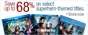 68% Off Superhero Titles