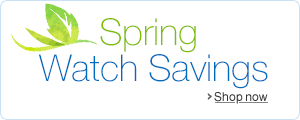 Spring Watch Deals