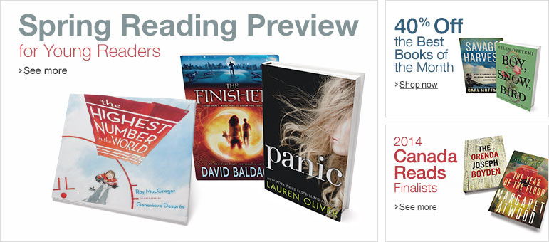 Spring Reading Preview for Young Readers