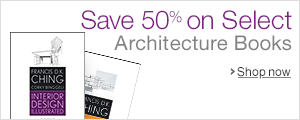Save 50% on Select Architecture Books