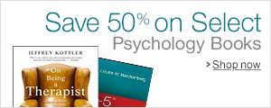 Save 50% on Select Psychology Books