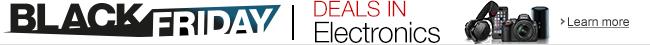 Electronics Black Friday Deals