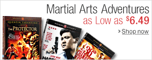 Martial Arts Adventures as Low as $6.49