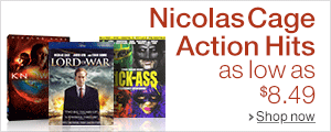 Movies Starring Nicolas Cage as Low as $8.49