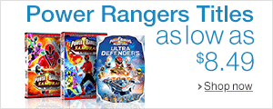 Power Rangers Titles as Low as $8.49