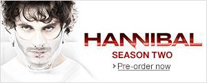 Pre-order Hannibal: Season 2