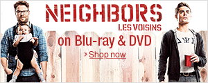 Neighbors on Blu-ray and DVD