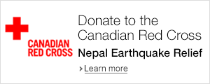Donate to the Canadian Red Cross