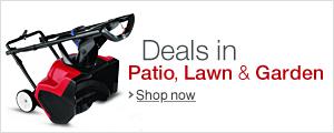 Patio, Lawn and Garden Deals
