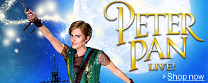 Peter Pan Live! Now Available