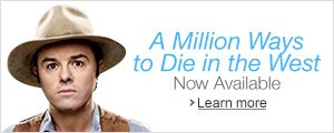 A Million Ways to Die in the West on Blu-ray and DVD