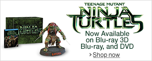 Teenage Mutant Ninja Turtles Now Available