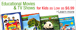 Educational Movies & TV Shows for Kids as Low as $6.99