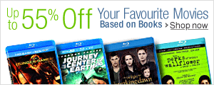 Up to 55% Off Your Favourite Movies Based on Books
