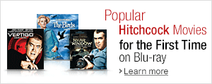 Popular Hitchcock Titles on Blu-ray for the First Time