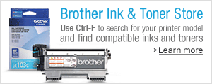Find Your Brother Ink & Toner