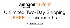 Unlimited FREE Two-Day Shipping for Six Months When You Join Amazon Student