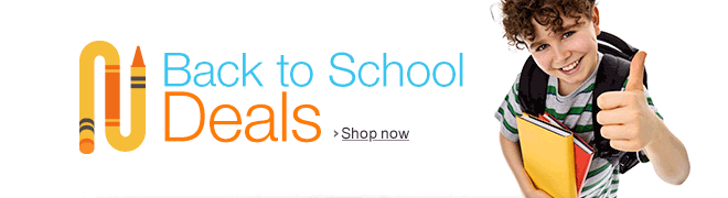 Back to School Deals