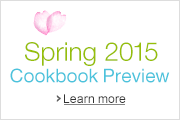 Amazon.ca: Spring 2015 Cookbook Preview