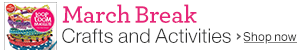March Break Craft and Activity Shop