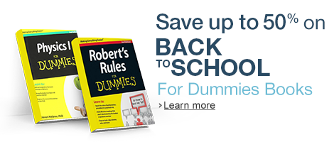 Up to 50% off Select For Dummies Books