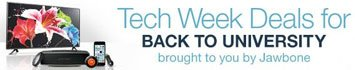 Shop Tech Week Deals for Back to University