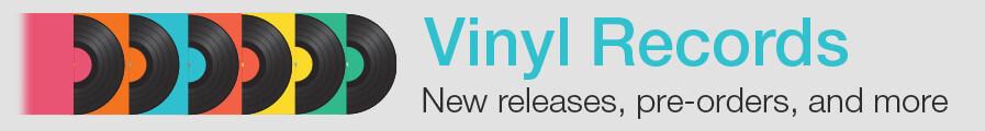 Sign Up for our Vinyl Newsletter