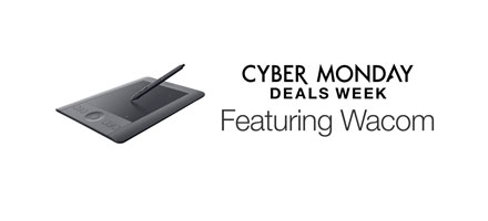 Cyber Monday Deals Week: Featuring Wacom