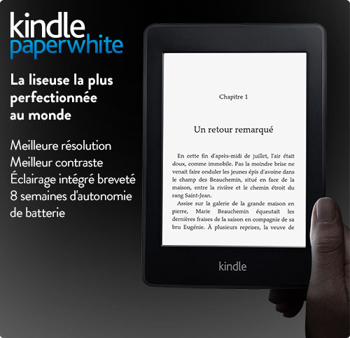 Kindle Paperwhite e-reader: quick tour