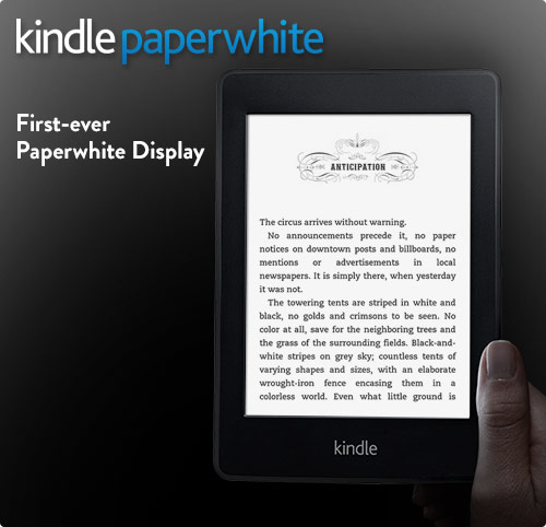 Kindle Paperwhite 3G e-reader