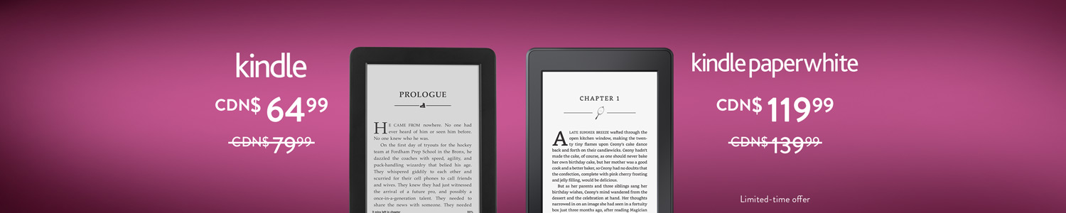 All-New Kindle Paperwhite and Kindle