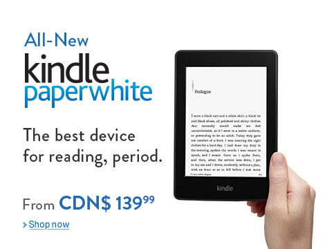 Introducing the all-new Kindle Paperwhite