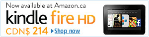 Kindle Fire HD at Amazon.ca