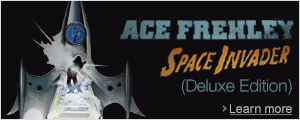 Ace Frehley Space Invaders