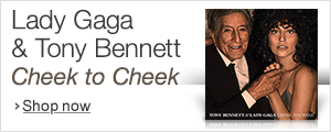 Lady Gaga and Tony Bennett-Cheek to Cheek