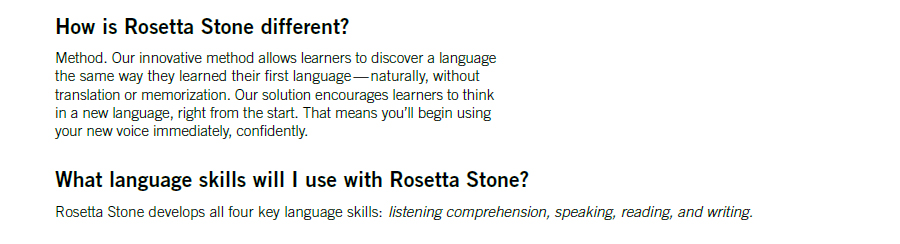 Rosetta Stone TOTALe: Frequently Asked Questions