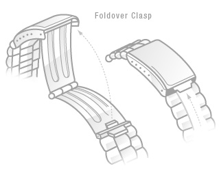 Foldover Clasp