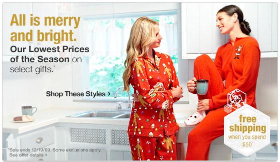 The Thinking Blonde: Christmas Pajamas