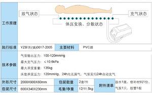 鱼跃防褥疮床垫(条纹式)