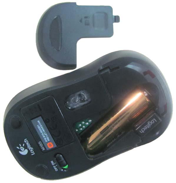 罗技 m185无线光学鼠标