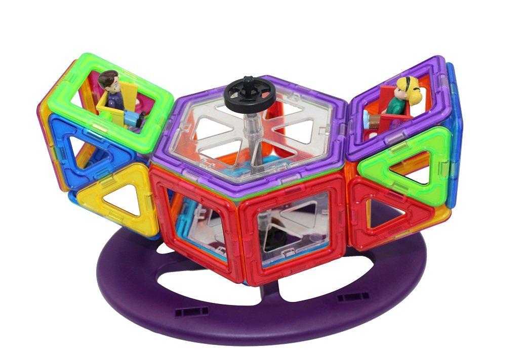 韩国MAGFORMERS品牌磁力健构片玩具系列,(中文名:益维思)共有30多个款类及磁片形状和配件。在美国韩国及众多欧洲国家和亚洲国家,都是非常受欢迎的益智玩具。有不少学校和幼儿园还把MAGFORMERS品牌磁力健构片当做教学用具,用于开发孩子的创造力和想象力。并连续2年获得美国创新玩具年度大奖,现在这款风靡海外的可以从小玩到大的益智玩具耀世登陆中国。上海琛达贸易有限公司是韩国MAGFORMERS品牌中国地区总代理,韩国MAGFORMERS品牌生产商为:东莞华生创建塑胶五金有限公司。(所有生产材料及辅料均
